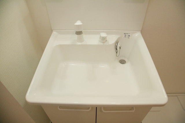 洗面所のシャワーヘッド交換